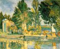 Paul Cezanne. Jas de Buffan, The Pool