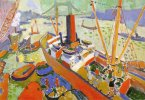 Andre Derain. The Pool of London