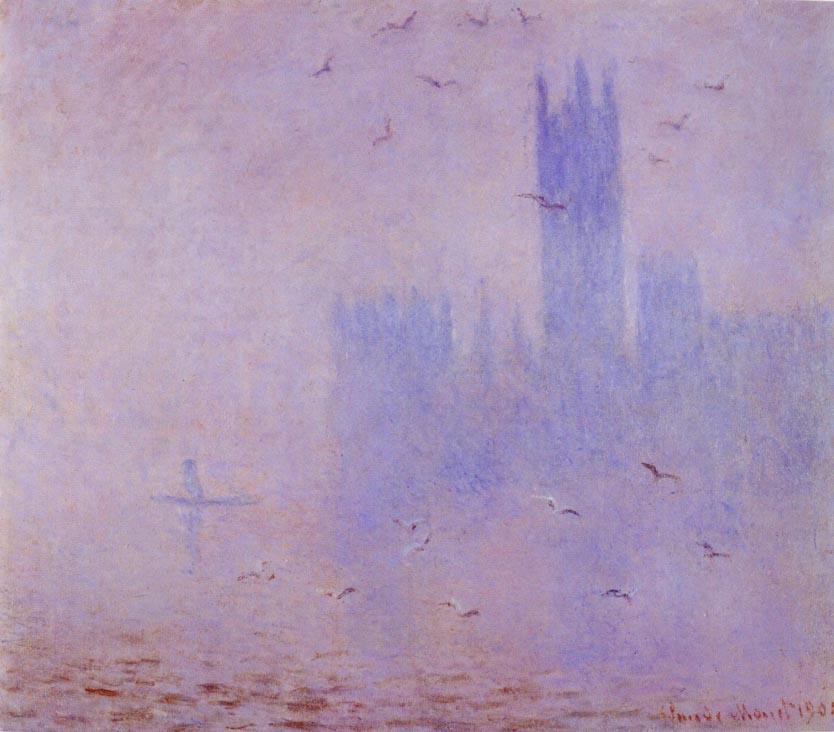 Картинки по запросу клод моне картины лондонский туман