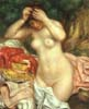 Pierre Auguste Renoir. Bather Arranging Her Hair