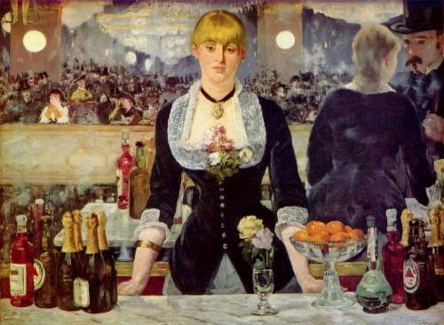 Эдуард Мане. Бар в «Фоли-Бержер». 1882. Холст, масло. 96×130. Институт искусства Курто, Лондон.