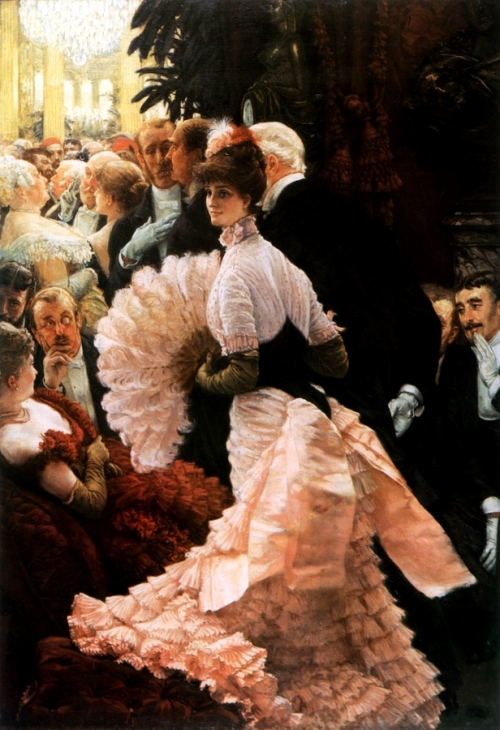 Джеймс Тиссо. Политическая леди. 1883-1885. Холст, масло. 142.2 x 101. Художественная галерея Олтбрайт Нокс, Баффало.