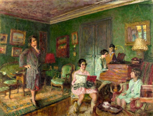 Full title: Madame André Wormser and her Children Artist: Edouard Vuillard Date made: 1926/7 Source: http://www.nationalgalleryimages.co.uk/ Contact: picture.library@nationalgallery.co.uk  Copyright © The National Gallery, London